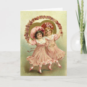 Vintage Valentine S Day Cards Zazzle Co Uk