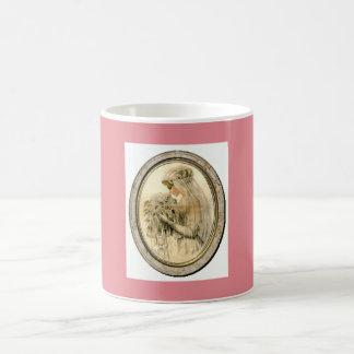 Pink Vintage Wedding Theme Bride Mug Gift