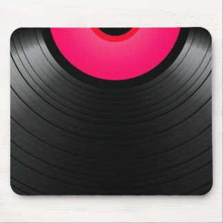Pink vinyl mouse pads