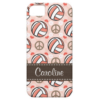 Pink Volleyball Barely There iPhone 5 Case