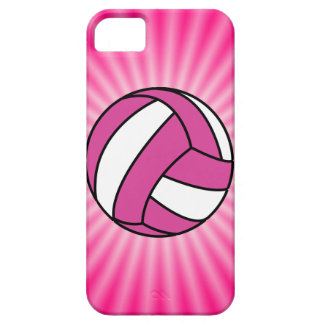 Pink Volleyball Case For The iPhone 5