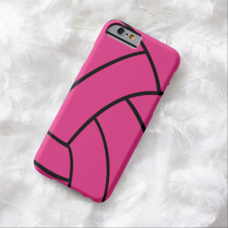 Pink Volleyball iPhone Case Barely There iPhone 6 Case