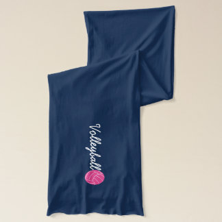 Pink Volleyball Scarf