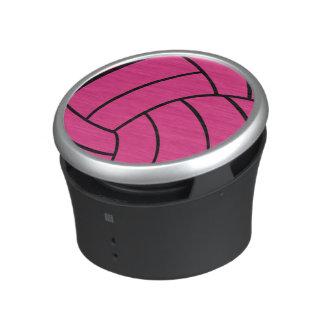 Pink Volleyball Speaker