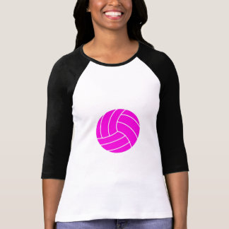 Pink Volleyball Tee Shirt