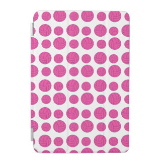 Pink volleyballs iPad mini cover