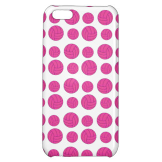 Pink volleyballs iPhone 5C cases