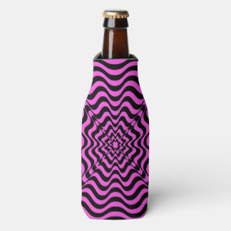 Pink Vortex Bottle Cooler