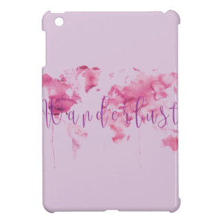 pink wanderlist iPad Mini Case