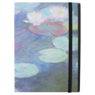 "Pink Water Lilies Claude Monet GalleryHD Fine Art iPad Pro 12.9"" Case"