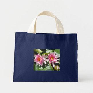 Pink Water Lillies Totebag Tote Bags