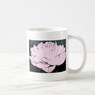 pink water lilly mugs