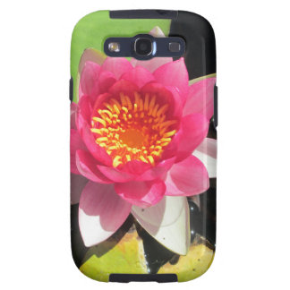 Pink water Lilly photograph Galaxy SIII Covers