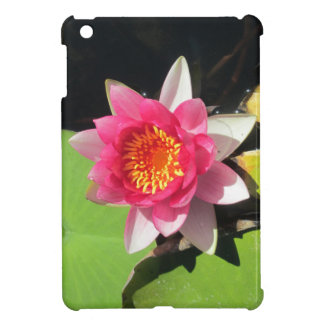 Pink water Lilly photograph Cover For The iPad Mini
