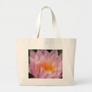 Pink-Water-Lilly Jumbo Tote Bag