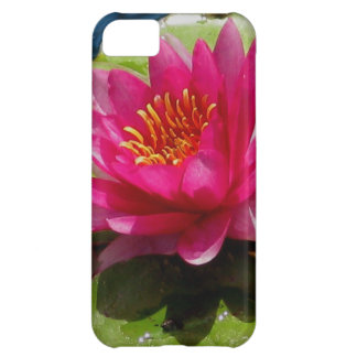 Pink Water Lily iPhone 5C Covers