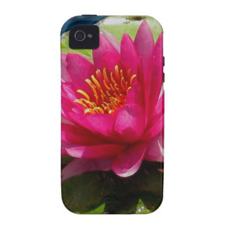 Pink Water Lily iPhone 4/4S Covers