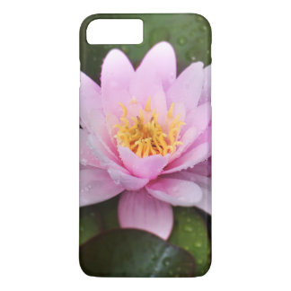 Pink Water Lily Floral Plant iPhone 7 Plus Case