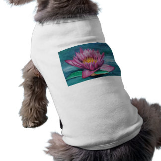 Pink Water Lily Pet Clothing