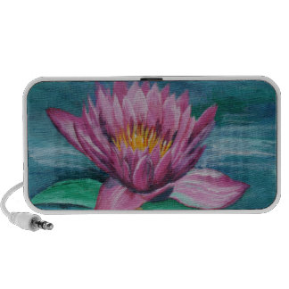 Pink Water Lily Speaker