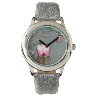 Pink water lily watches