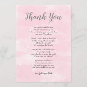 Baby Shower Poems For Girls Cards Zazzle Uk