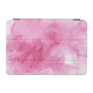 pink watercolor background for your iPad mini cover