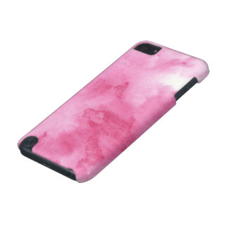 pink watercolor background for your iPod touch 5G covers