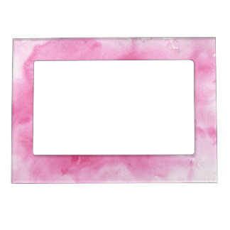pink watercolor background for your magnetic frame