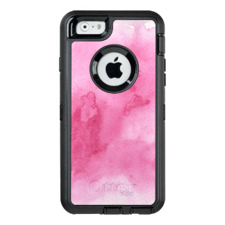 pink watercolor background for your OtterBox defender iPhone case