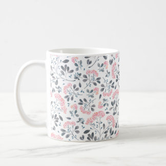 Pink Watercolor Blossoms Mug