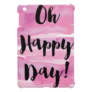 Pink watercolor iPad cover. Oh happy day! Cover For The iPad Mini