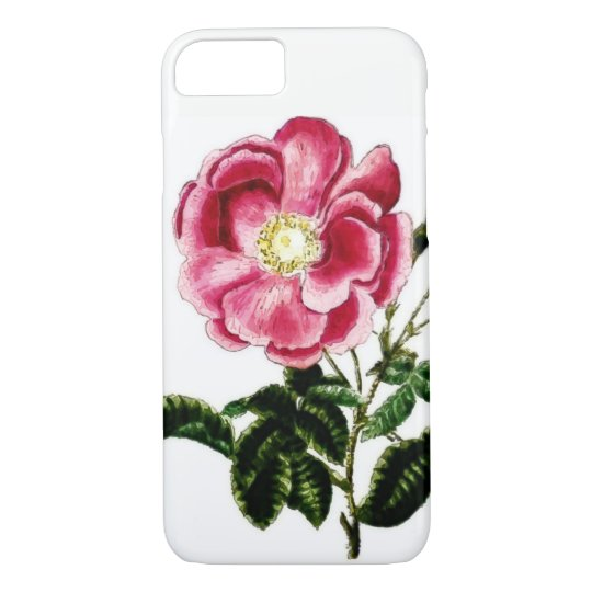 Pink Watercolor iPhone 7 Phone Case