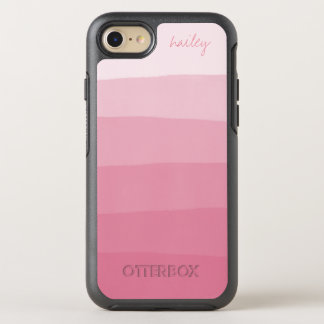 Pink Watercolor Ombre Gradient | OtterBox Symmetry iPhone 8/7 Case