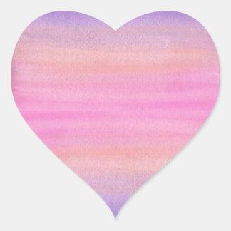 Pink Watercolor Sticker