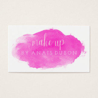 ★ Pink Watercolour Modern Calligraphy  Card ★