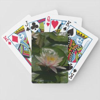 Pink Waterlilies Lotus Playing Cards