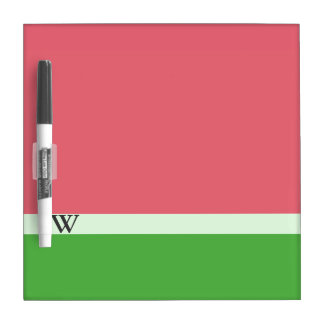 Pink Watermelon Colour Block Dry Erase Board
