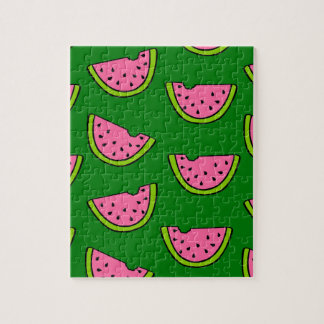 Pink Watermelons Jigsaw Puzzle