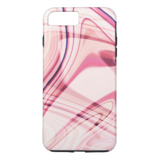 Pink Wavy Lines iPhone 7 Plus Case