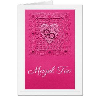 Pink Wedding Card