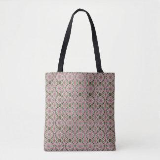 Pink Wedding Quilt (multi print) Mandala Tote Bag