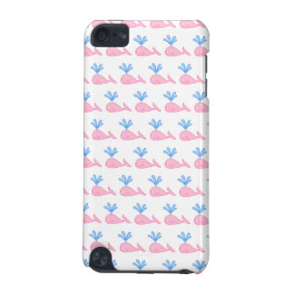 Pink Whale Pattern. iPod Touch 5G Cases