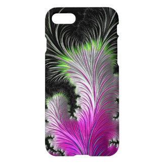 Pink White and Lime Green Glossy iphone 7 Case