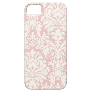 Pink White Damask iPhone Case iPhone 5 Covers