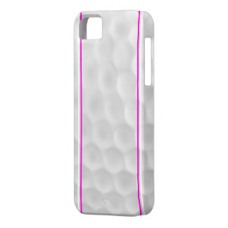 Pink White Golf Ball Iphone 5 Case