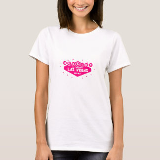 PINK & WHITE Wedding in Fabulous Las Vegas Shirt