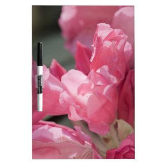 Pink wild flowers Dry-Erase board