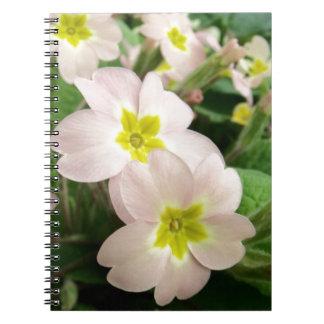 Pink Wild Primrose Plant Notebook