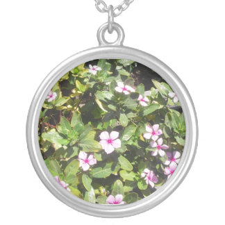 Pink Wildflower Necklace